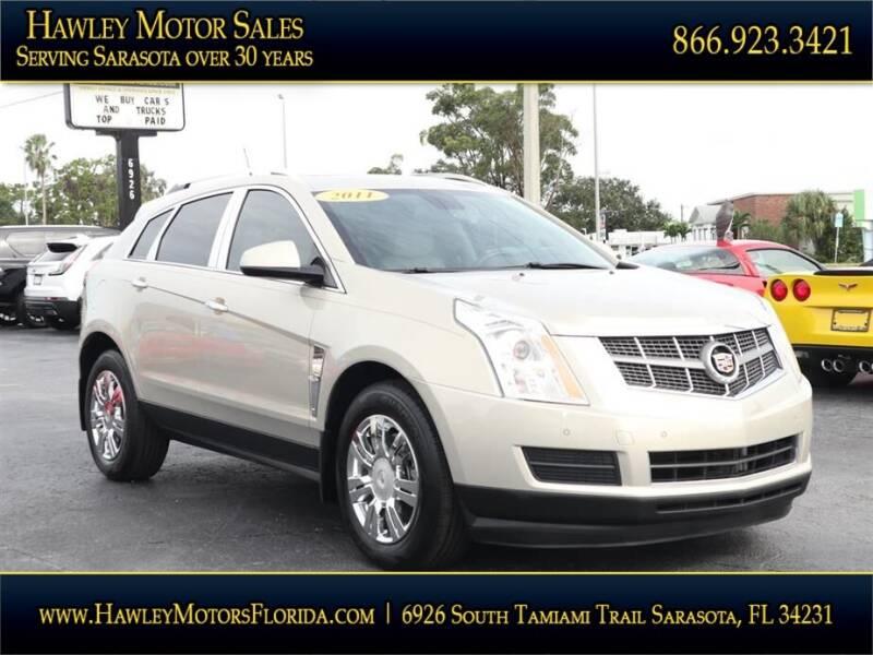 2011 Cadillac SRX for sale at Hawley Motor Sales in Sarasota FL