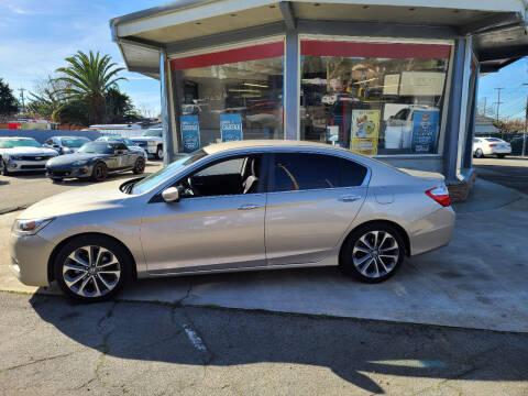 2015 Honda Accord for sale at Imports Auto Sales & Service in San Leandro CA