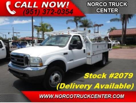 2004 Ford F-450 Super Duty for sale at Norco Truck Center in Norco CA
