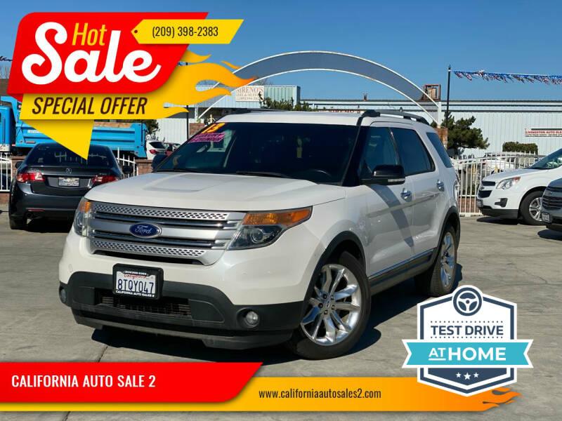 2013 Ford Explorer for sale at CALIFORNIA AUTO SALE 2 in Livingston CA