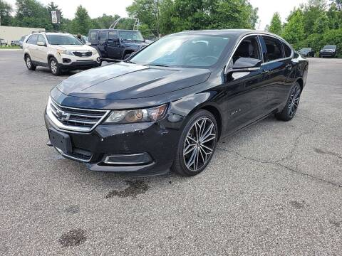2017 Chevrolet Impala for sale at Cruisin' Auto Sales in Madison IN