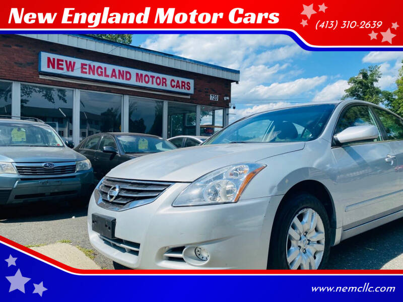 2011 Nissan Altima for sale at New England Motor Cars in Springfield MA