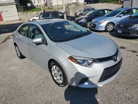 2015 Toyota Corolla for sale at Fortier's Auto Sales & Svc in Fall River MA