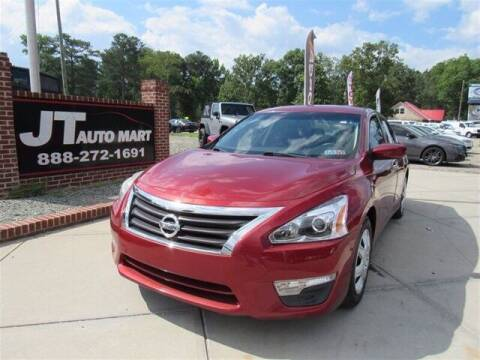 2014 Nissan Altima for sale at J T Auto Group in Sanford NC