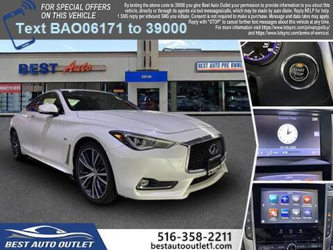2017 Infiniti Q60 for sale at Best Auto Outlet in Floral Park NY