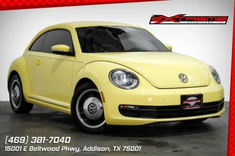 2013 Volkswagen Beetle for sale at EXTREME SPORTCARS INC in Carrollton TX