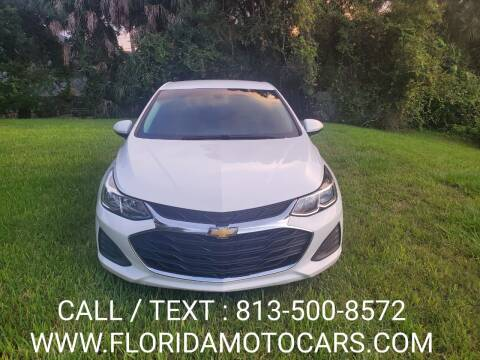 2019 Chevrolet Cruze for sale at Florida Motocars in Tampa FL