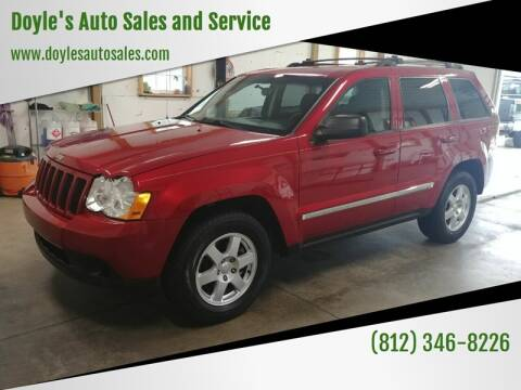 2010 Jeep Grand Cherokee for sale at Doyle's Auto Sales and Service in North Vernon IN