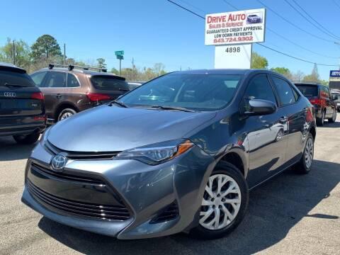 2019 Toyota Corolla for sale at Drive Auto Sales & Service, LLC. in North Charleston SC