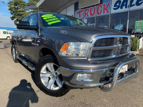 2010 Dodge Ram Pickup 1500 for sale at Xtreme Truck Sales in Woodburn OR