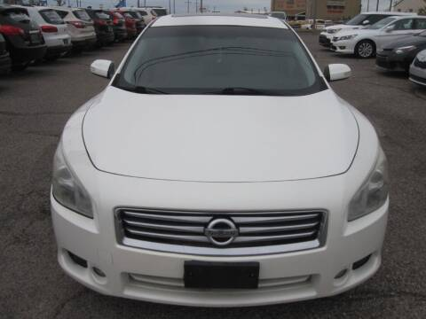 2013 Nissan Maxima for sale at T & D Motor Company in Bethany OK