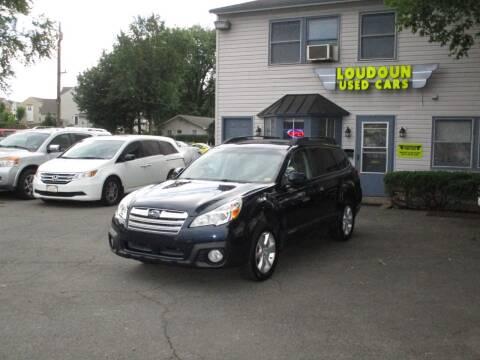 2013 Subaru Outback for sale at Loudoun Used Cars in Leesburg VA