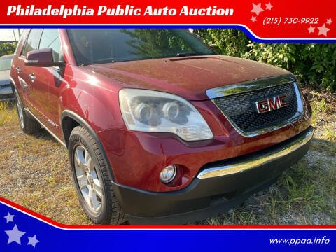 2008 GMC Acadia for sale at Philadelphia Public Auto Auction in Philadelphia PA