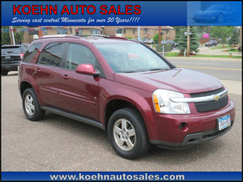 2009 Chevrolet Equinox for sale at Koehn Auto Sales in Lindstrom MN