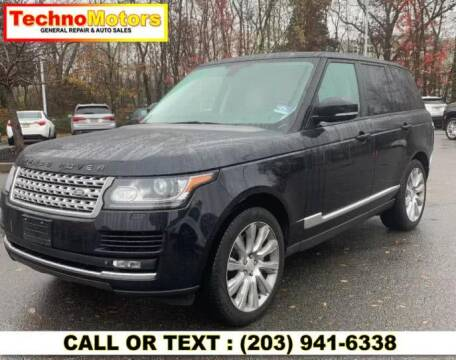 2014 Land Rover Range Rover for sale at Techno Motors in Danbury CT