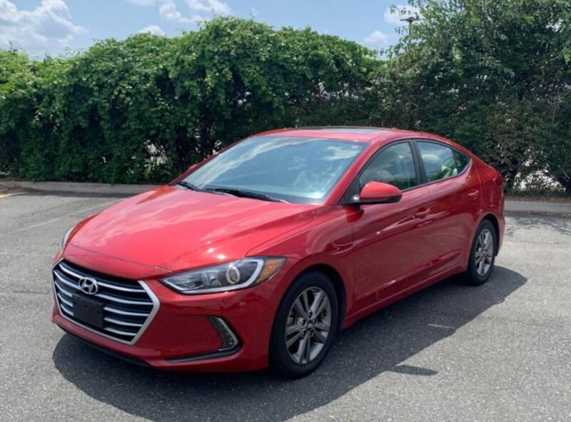 2017 Hyundai Elantra for sale at Caulfields Family Auto Sales in Bath PA