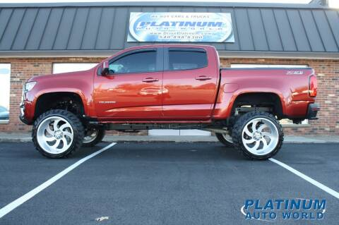2016 Chevrolet Colorado for sale at Platinum Auto World in Fredericksburg VA