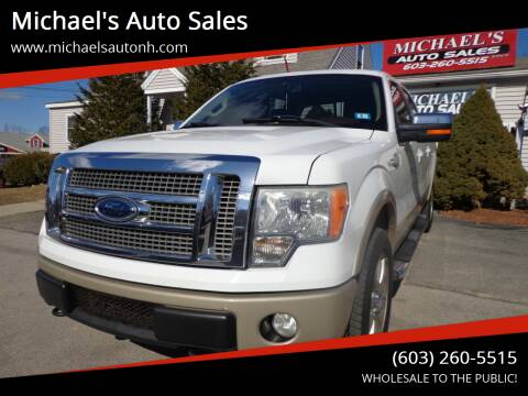2009 Ford F-150 for sale at Michael's Auto Sales in Derry NH