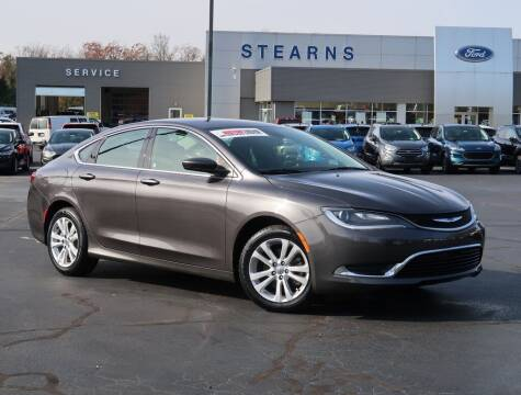2016 Chrysler 200 for sale at Stearns Ford in Burlington NC