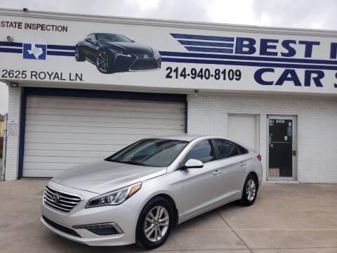2015 Hyundai Sonata for sale at Best Royal Car Sales in Dallas TX
