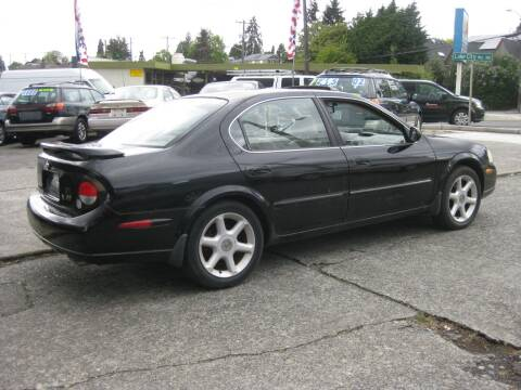 2001 Nissan Maxima for sale at UNIVERSITY MOTORSPORTS in Seattle WA