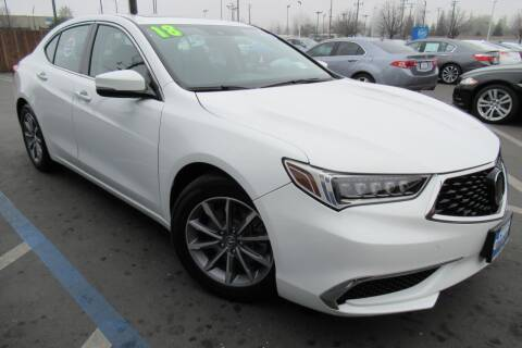 2018 Acura TLX for sale at Choice Auto & Truck in Sacramento CA