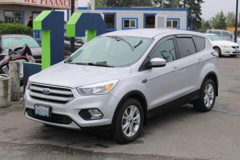 2017 Ford Escape for sale at BAYSIDE AUTO SALES in Everett WA