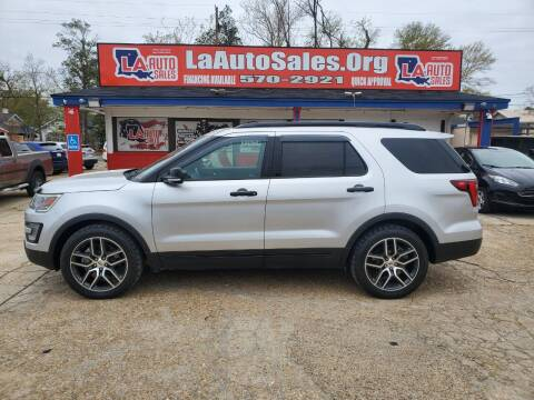 2016 Ford Explorer for sale at LA Auto Sales in Monroe LA