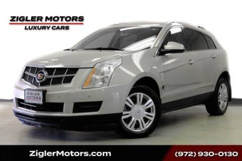 2010 Cadillac SRX for sale at Zigler Motors in Addison TX