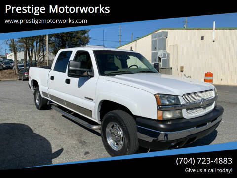 2003 Chevrolet Silverado 1500HD for sale at Prestige Motorworks in Concord NC