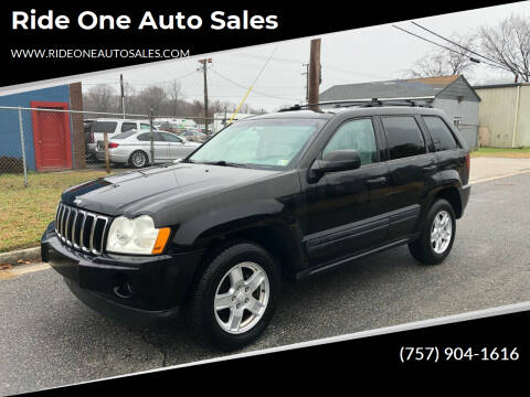 2006 Jeep Grand Cherokee for sale at Ride One Auto Sales in Norfolk VA