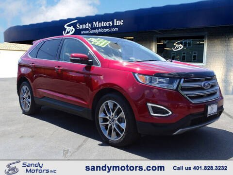 2016 Ford Edge for sale at Sandy Motors Inc in Coventry RI