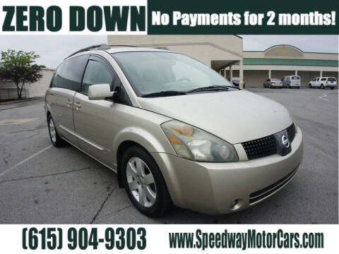 2004 Nissan Quest for sale at Speedway Motors in Murfreesboro TN
