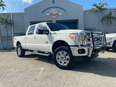 2015 Ford F-350 Super Duty for sale at Ven-Usa Autosales Inc in Miami FL