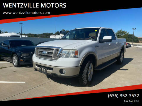 2007 Ford F-150 for sale at WENTZVILLE MOTORS in Wentzville MO