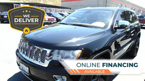 2012 Jeep Grand Cherokee for sale at So Cal Performance in San Diego CA