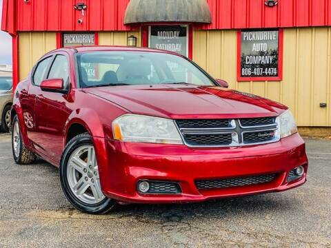 2014 Dodge Avenger for sale at MAGNA CUM LAUDE AUTO COMPANY in Lubbock TX