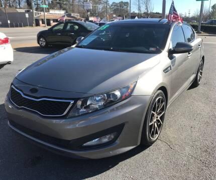 2013 Kia Optima for sale at Dad's Auto Sales in Newport News VA