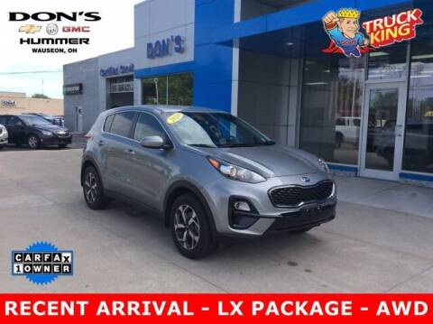 2020 Kia Sportage for sale at DON'S CHEVY, BUICK-GMC & CADILLAC in Wauseon OH