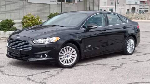 2013 Ford Fusion Energi for sale at Clean Fuels Utah in Orem UT