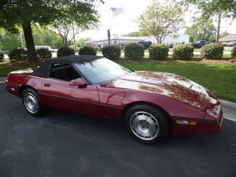 1987 Chevrolet Corvette for sale at Carolina Classics & More in Thomasville NC