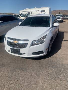2014 Chevrolet Cruze for sale at Poor Boyz Auto Sales in Kingman AZ