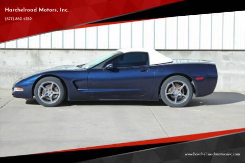 1999 Chevrolet Corvette for sale at Harchelroad Motors, Inc. in Wauneta NE
