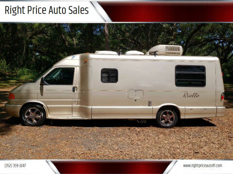 2003 Volkswagen EuroVan for sale at Right Price Auto Sales-Gainesville Trailers in Gainesville FL