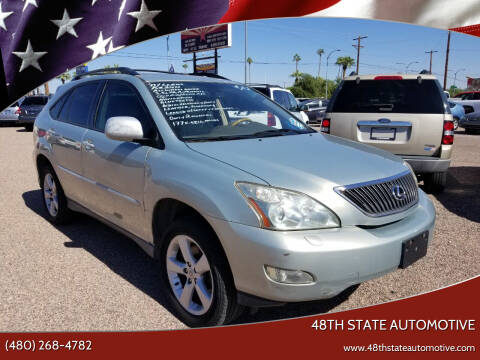 2007 Lexus RX 350 for sale at 48TH STATE AUTOMOTIVE in Mesa AZ