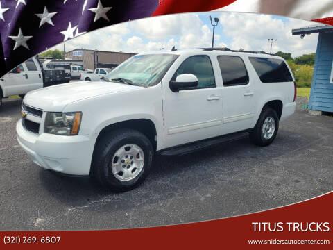 2014 Chevrolet Suburban for sale at Titus Trucks in Titusville FL