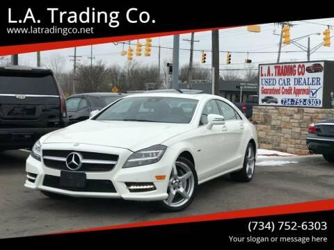 2012 Mercedes-Benz CLS for sale at L.A. Trading Co. in Woodhaven MI