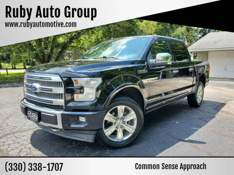 2017 Ford F-150 for sale at Ruby Auto Group in Hudson OH