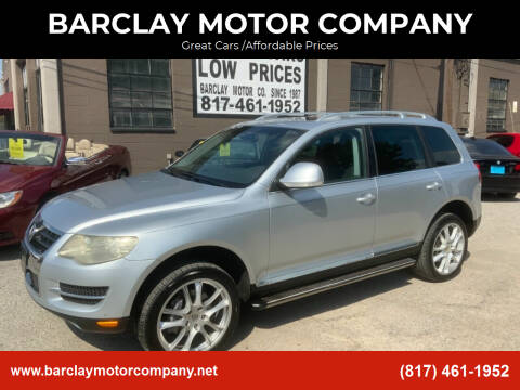 2008 Volkswagen Touareg 2 for sale at BARCLAY MOTOR COMPANY in Arlington TX