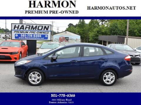 2016 Ford Fiesta for sale at Harmon Premium Pre-Owned in Benton AR